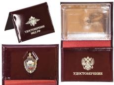 Портмоне кожанное МВД России фото