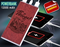 "Зарядное устройство PowerBank ""Победа"" (с фонариком) фото"