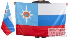 Представительский флаг МЧС России двусторонний фото