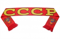 Советский шарф из шелка