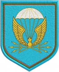 Шеврон 38 отдельный полк связи ВДВ фото