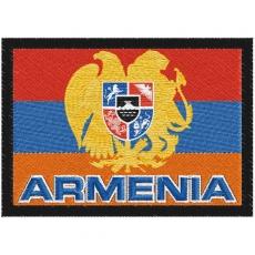 Шеврон флаг Армении фото