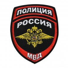 Шеврон МВД Полиция России фото