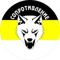 """Стикер """"Сопротивление"""" Имперский Флаг"""