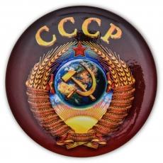 Сувенирный закатный значок СССР фото