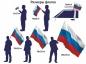Флаг на юбилей Московского Уголовного Розыска фото