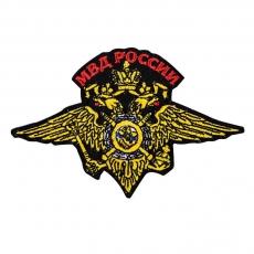 Нашивка в виде герба МВД России фото