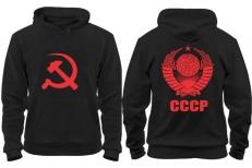 Толстовка с капюшоном СССР фото