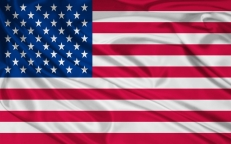 Флаг США на машину фото