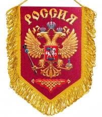 Вымпел с гербом России фото