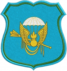 Вышитая нашивка Командования ВДВ фото