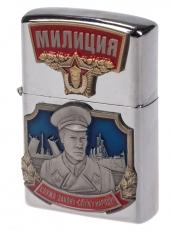 "Зажигалка бензиновая ""Милиция"" фото"