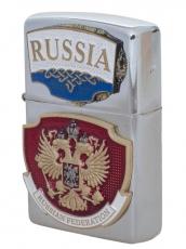 "Зажигалка бензиновая ""RUSSIA""  фото"