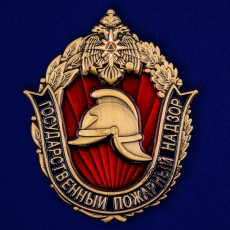 Жетон «Государственный Пожарный надзор МЧС России» фото