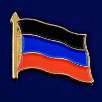 Значок в виде флажка ДНР