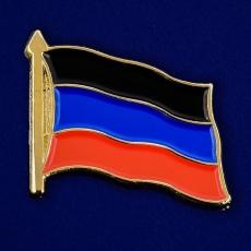 Значок в виде флажка ДНР фото