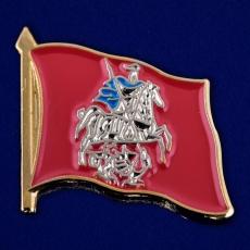 "Значок ""Флаг Москвы"" фото"