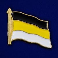 Значок в виде флага Российской империи