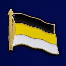 Значок в виде флага Российской империи фото