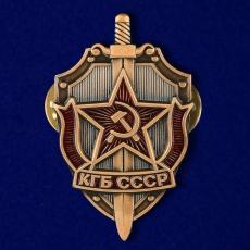 """Значок """"КГБ СССР"""" фото"""