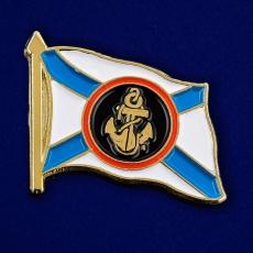 "Значок ""Флаг Морской Пехоты"" фото"