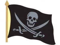 """Значок """"Пират Роджер"""""""