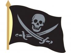 """Значок """"Пират Роджер"""" фото"""