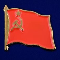 Значок СССР с Серпом и Молотом фото
