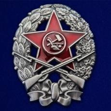 """Знак """"Командира стрелковых частей"""" (1918-1922) фото"""