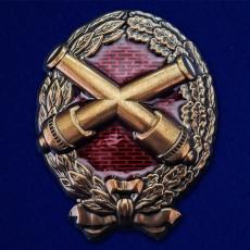Знак Красного артиллериста  (1917-1918) фото