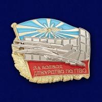 """Знак ВКС """"За боевое дежурство по ПВО"""""""
