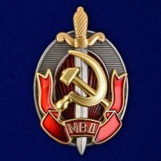 "Знак ""Заслуженный работник МВД"" фото"